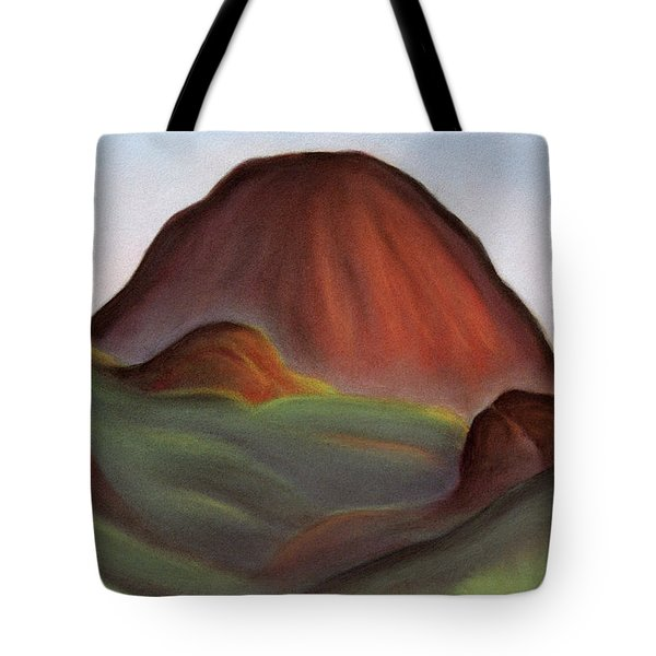 Cathedral Rock Warrumbungle National Park Nsw Tote Bag