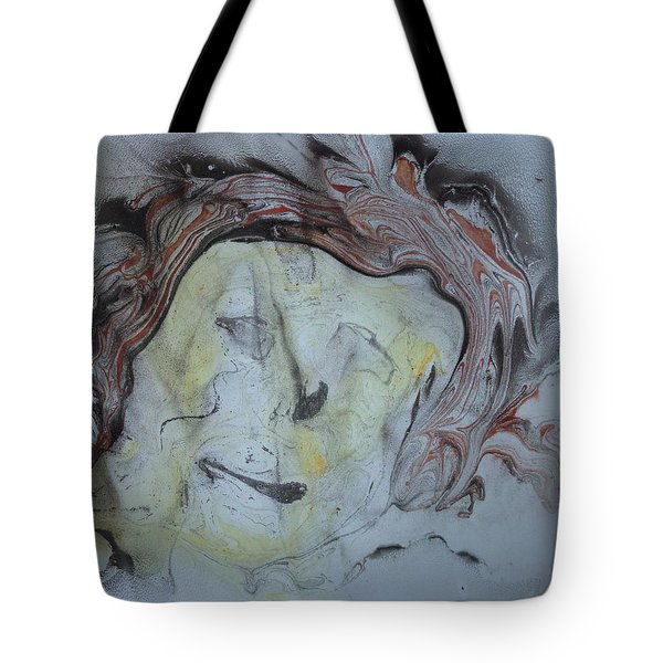 Tote Bag featuring the painting Catman by Mike Breau