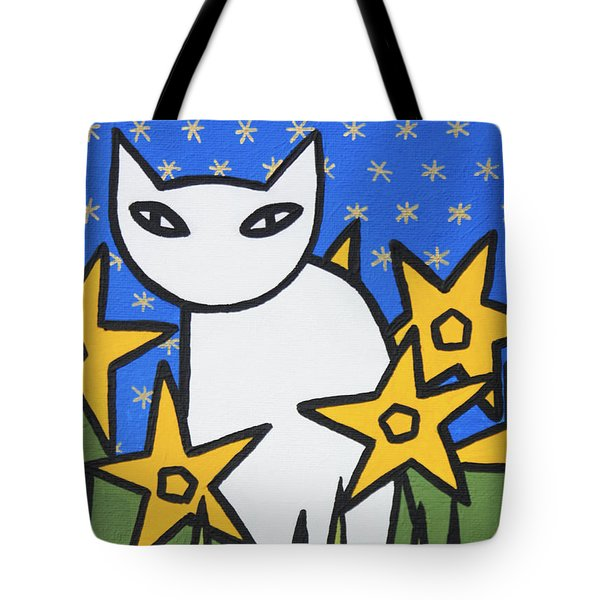 Cats 2 Tote Bag by Trudie Canwood
