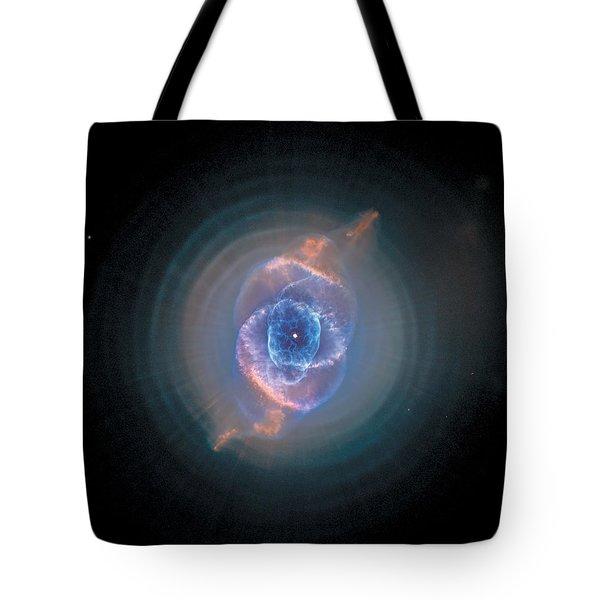 Cats Eye Nebula - Ngc 6543  Tote Bag