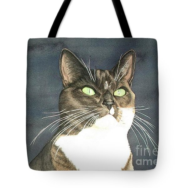 Cats Eyes Tote Bag