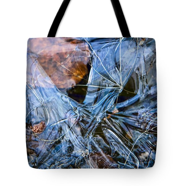 Caught In Ice Tote Bag