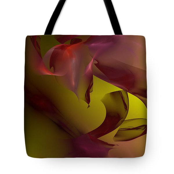 Tote Bag featuring the digital art Cause An Effect by Jeff Iverson