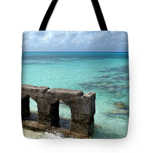Causeways Ancient And Modern Tote Bag