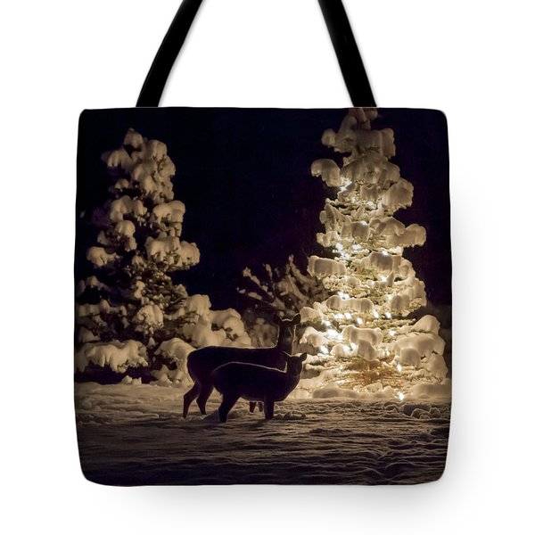 Tote Bag featuring the photograph Cautious by Aaron Aldrich