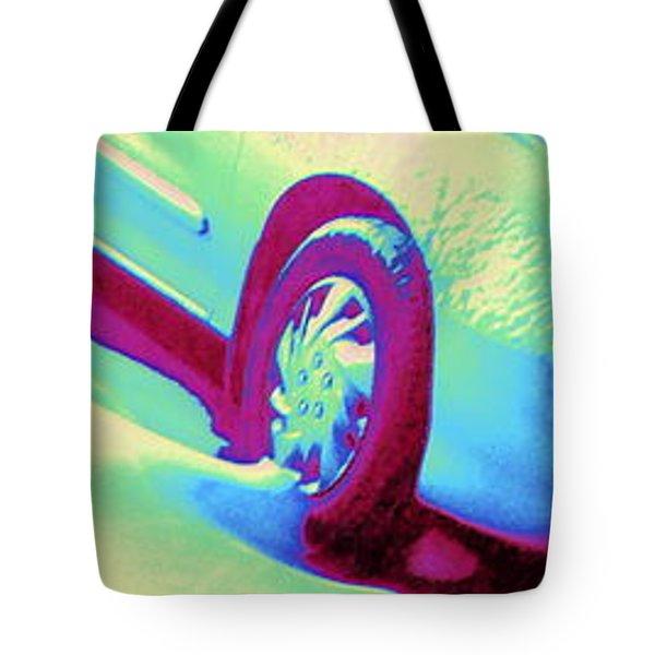 Cavalier In Motion Tote Bag by Pamela Hyde Wilson