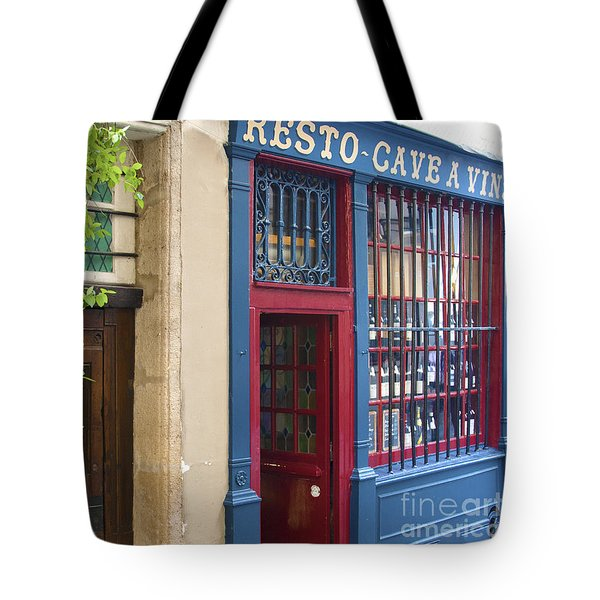 Tote Bag featuring the photograph Cave A Vins by Victoria Harrington