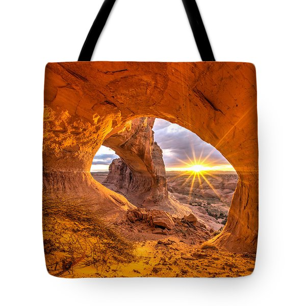 Cave Arch Tote Bag