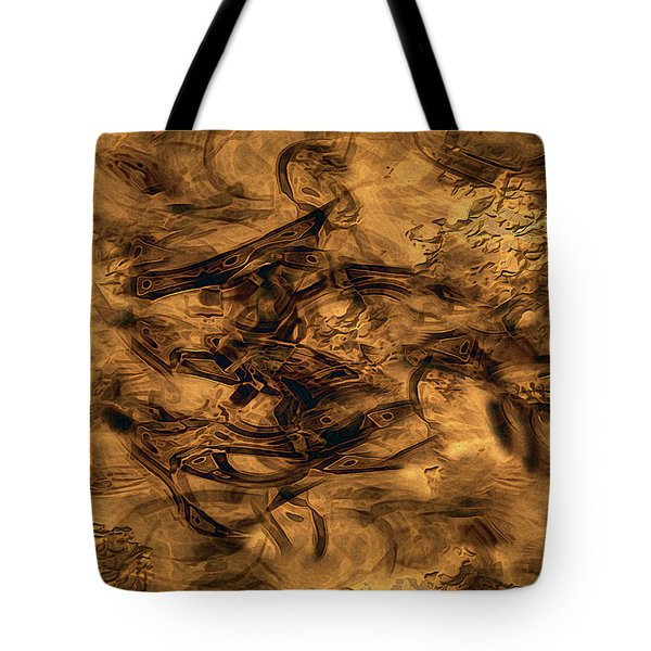 Cave Painting Tote Bag by RC deWinter