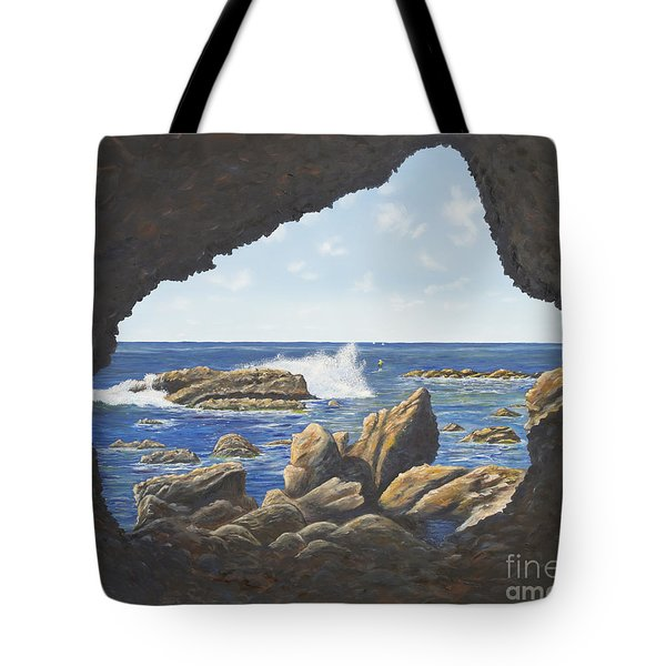 Cave View Tote Bag