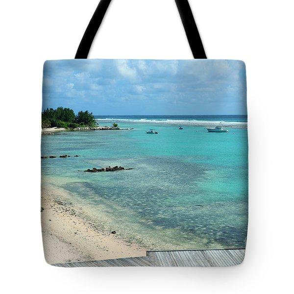 Cayman Beach Tote Bag