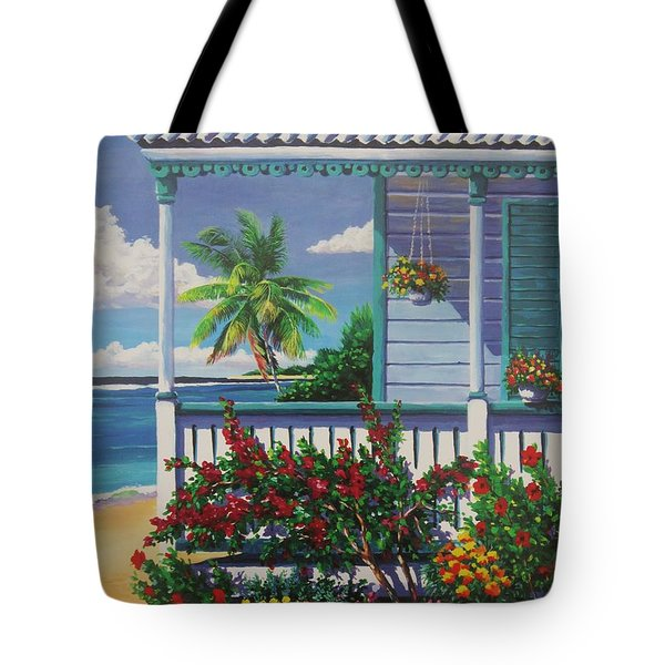 Cayman Porch Tote Bag