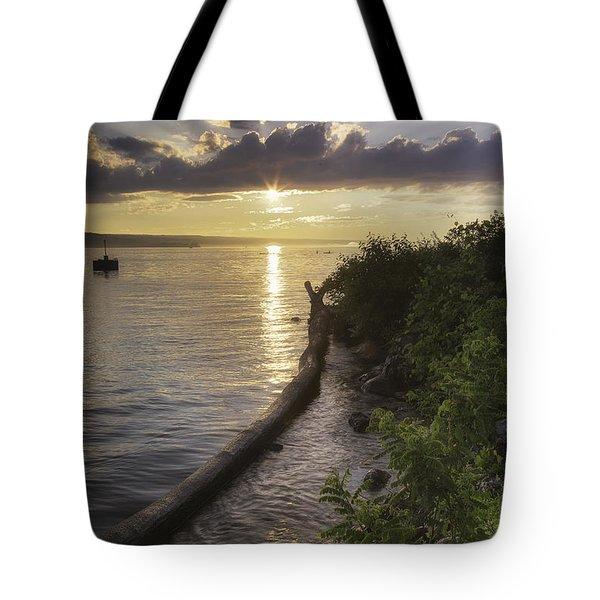 Cayuga Sunset II Tote Bag
