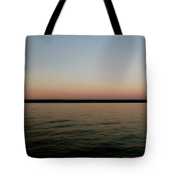 Cayuga Sunset Tote Bag
