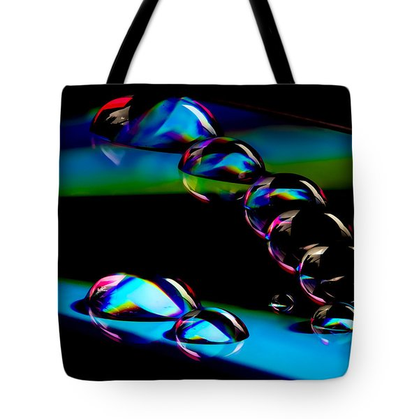 Cd Lineup Tote Bag by Jean Noren