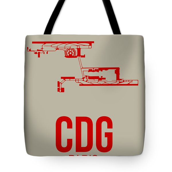 Cdg Paris Airport Poster 2 Tote Bag