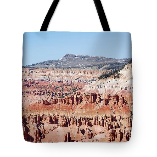 Cedar Breaks Up Close 3 Tote Bag by Debra Thompson