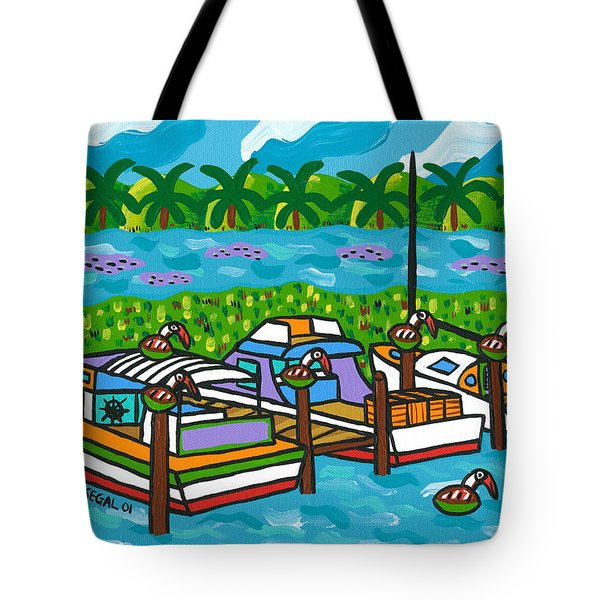 Cedar Key Bayou Tote Bag