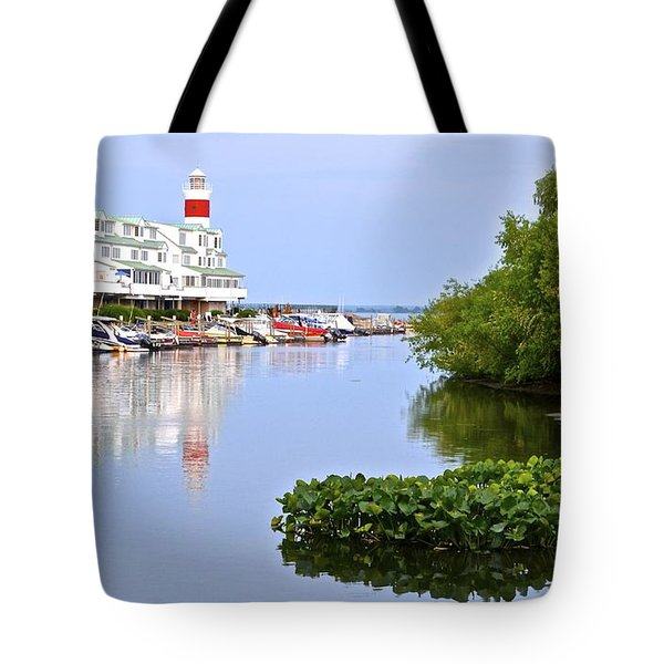 Cedar Point Ohio Tote Bag by Frozen in Time Fine Art Photography