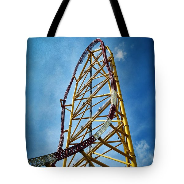 Cedar Point - Top Thrill Dragster Tote Bag