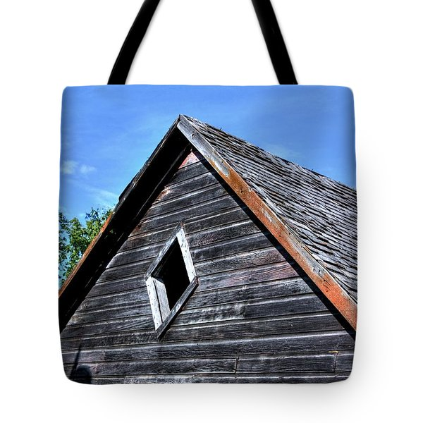 Cedar Shingles Tote Bag