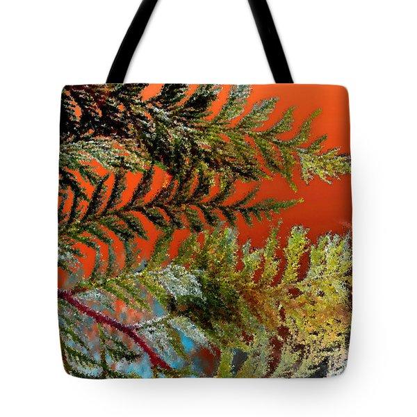 Cedar Canvas Tote Bag by Gwyn Newcombe