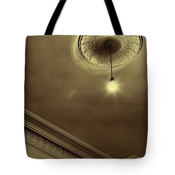 Tote Bag featuring the photograph Ceiling Light by Craig B