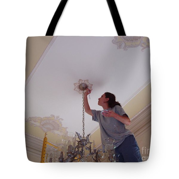 Ceiling Painting Tote Bag