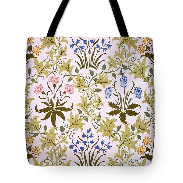 Celandine Wallpaper Design Tote Bag