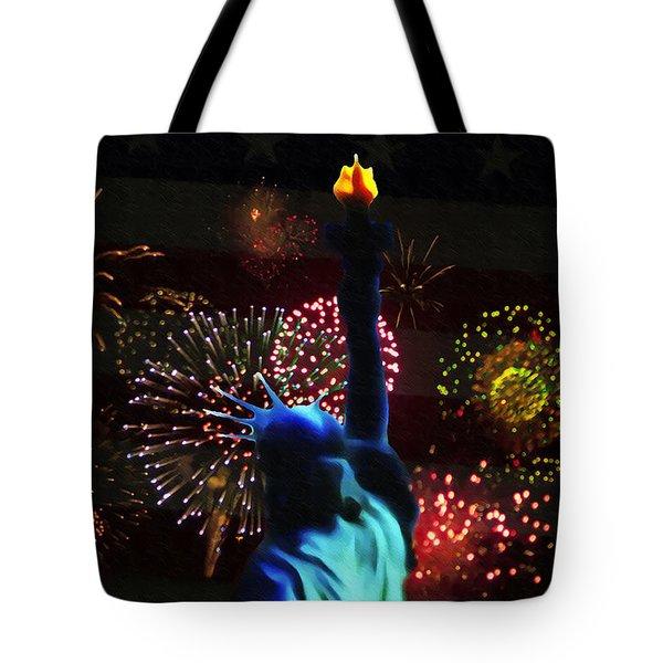 Celebrate America Tote Bag by Bill Cannon