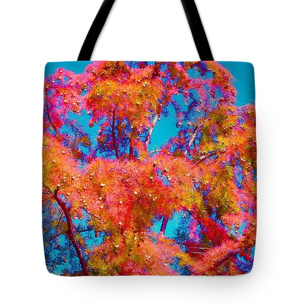 Celebrate Autumn Tote Bag by Ann Johndro-Collins