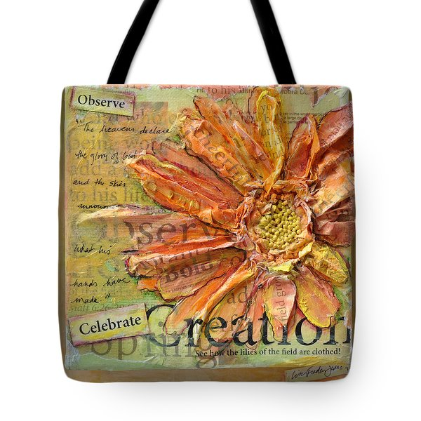 Celebrate Creation Tote Bag