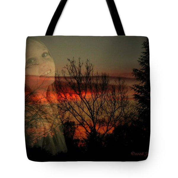 Tote Bag featuring the photograph Celebrate Life by Joyce Dickens