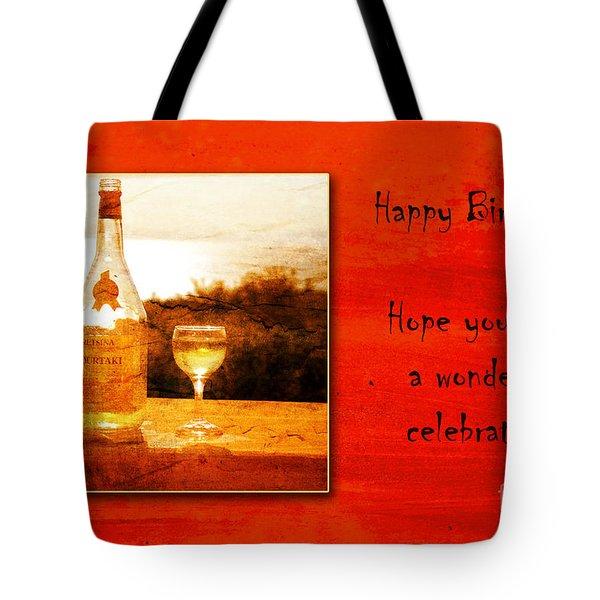 Celebrate Tote Bag by Randi Grace Nilsberg