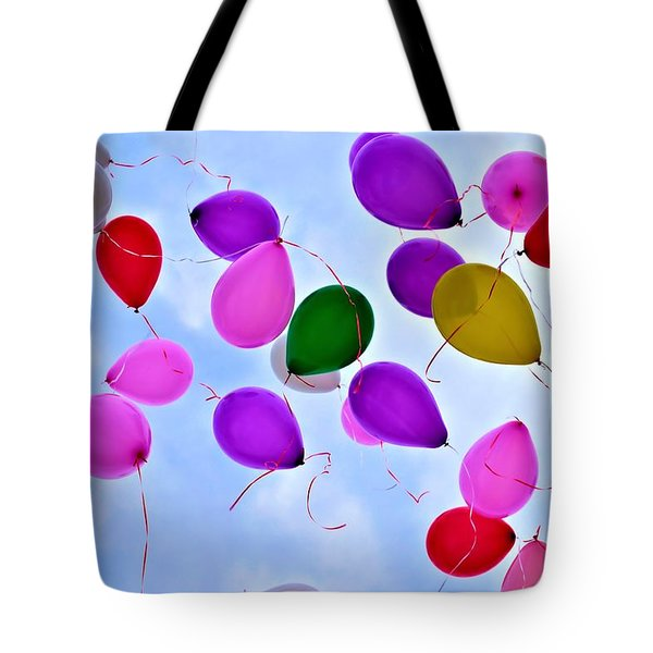 Celebrate Tote Bag by Tara Potts