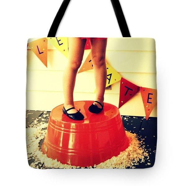 Celebrate Tote Bag by Valerie Reeves