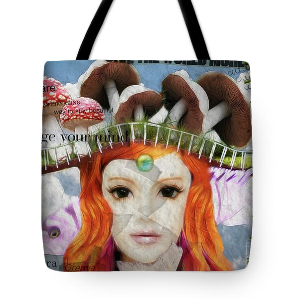 Tote Bag featuring the digital art Celebrate Who You Are by Barbara Orenya