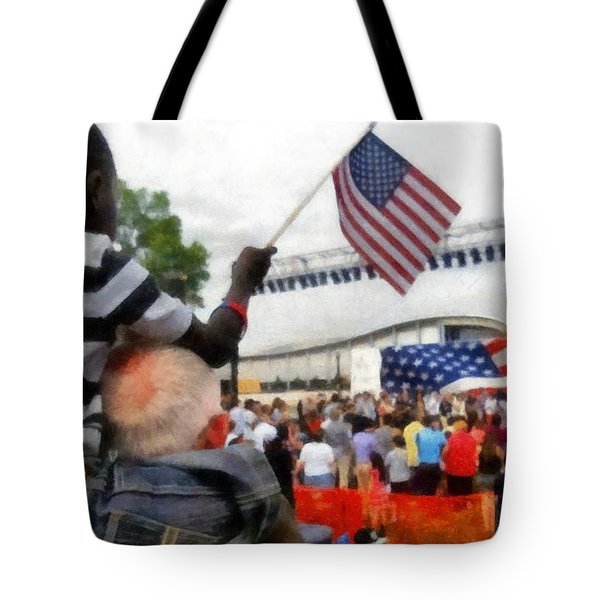 Celebrating Citizenship Tote Bag
