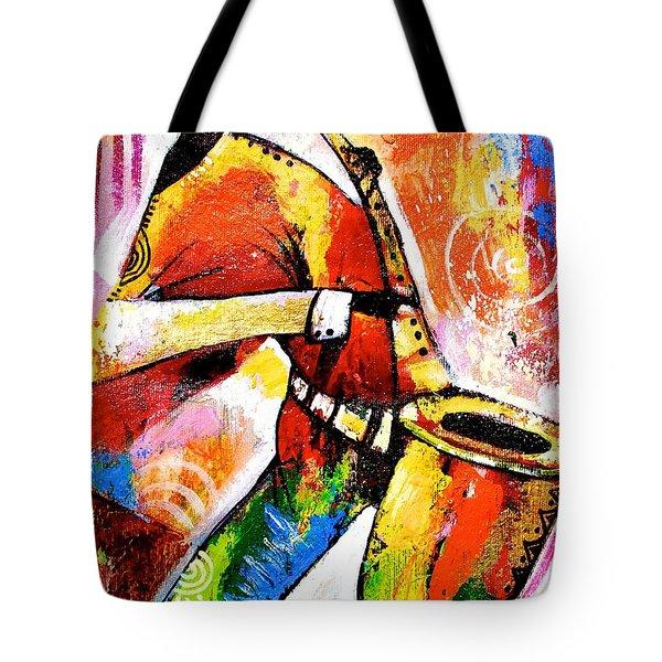 Celebrating Music Tote Bag