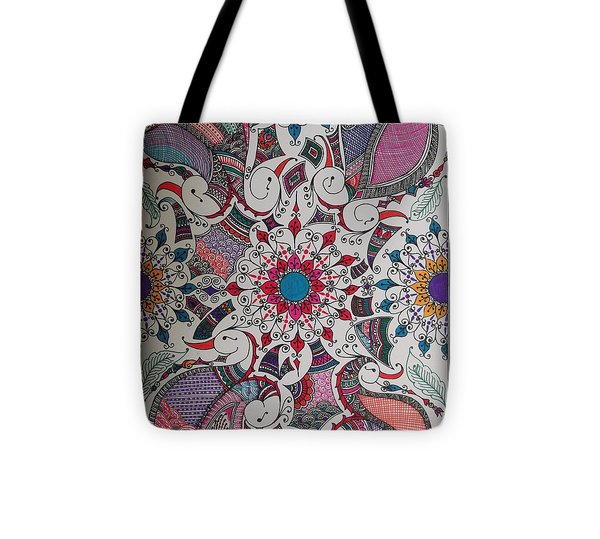 Celebration Of Design Tote Bag by M Ande