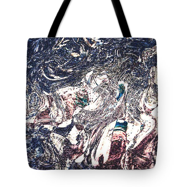 Tote Bag featuring the digital art Celebration Of Entanglement by Richard Thomas