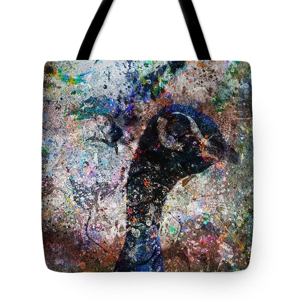 Celebration Of The Peacock Tote Bag by Nola Lee Kelsey