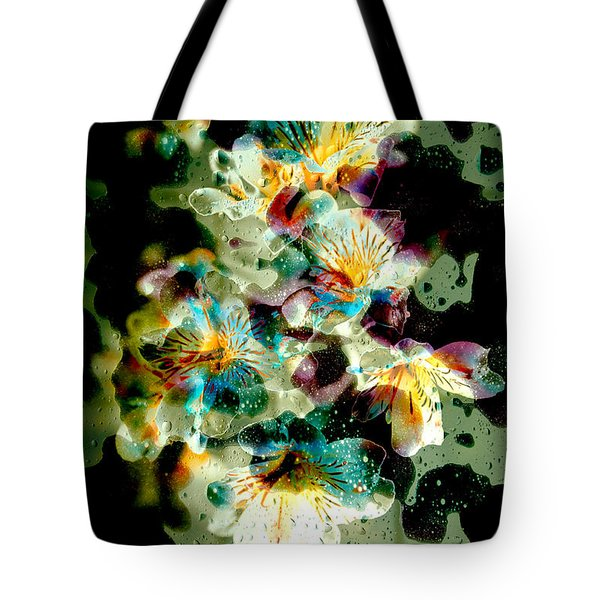 Celestial Flowers Tote Bag by Loriental Photography