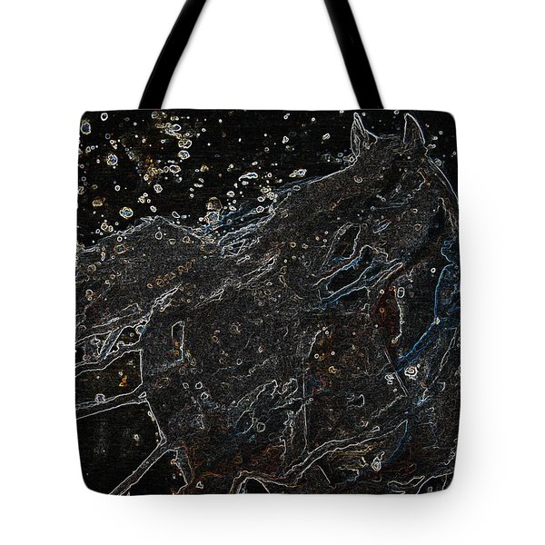Wild Horse Of The Skies Tote Bag