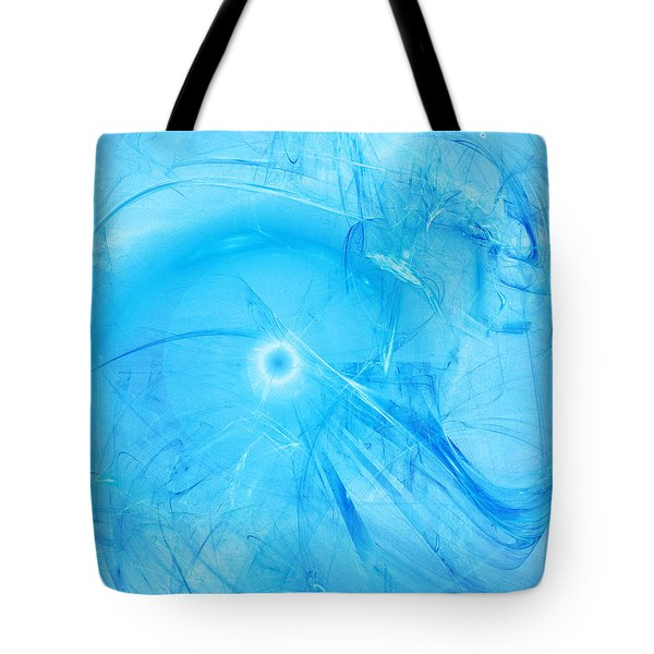 Celestial Intelligencer Tote Bag by Jeff Iverson