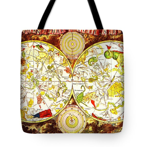Celestial Map Tote Bag
