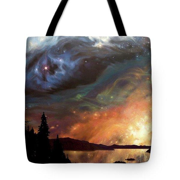 Celestial Northwest Tote Bag
