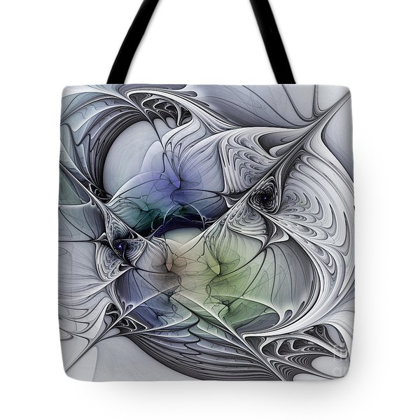 Celestial Sphere Abstract Art Tote Bag