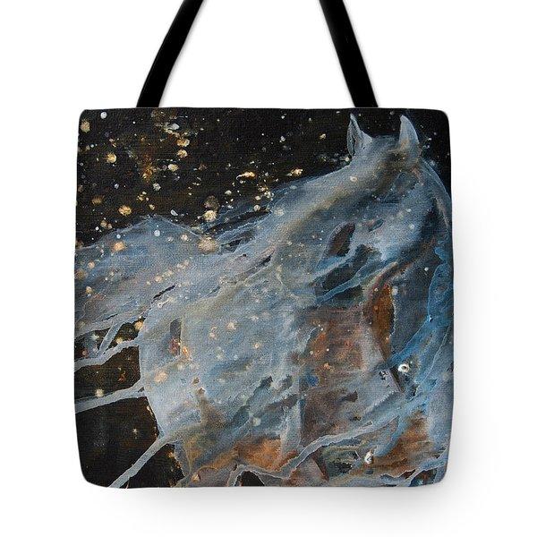 Celestial Stallion  Tote Bag