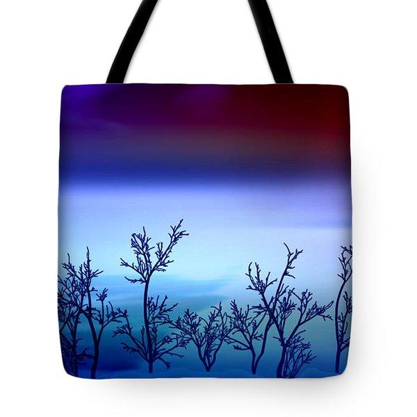 Celestial Stem Tote Bag by Peter R Nicholls